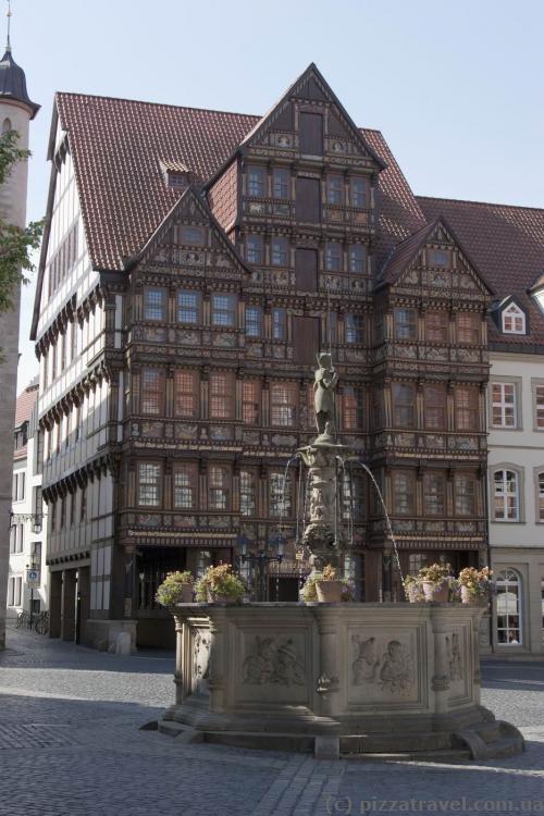 Будинок Ведекінда (Wedekindhaus) на Ринковій площі