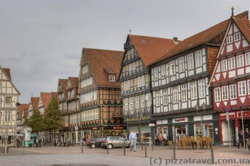 Houses on the Tournament Square in Celle