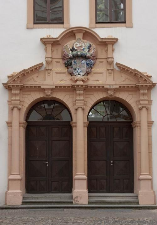 Castle doors in Celle