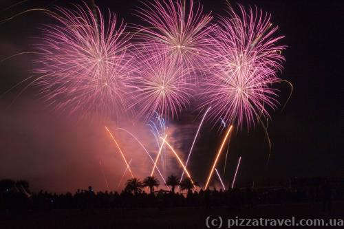 Фестиваль феєрверків у Ганновері
