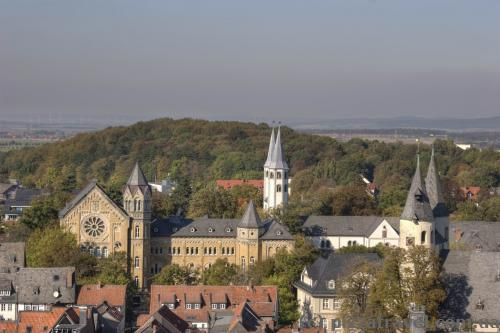 View of Goslar from the Cosmas and Damian Church