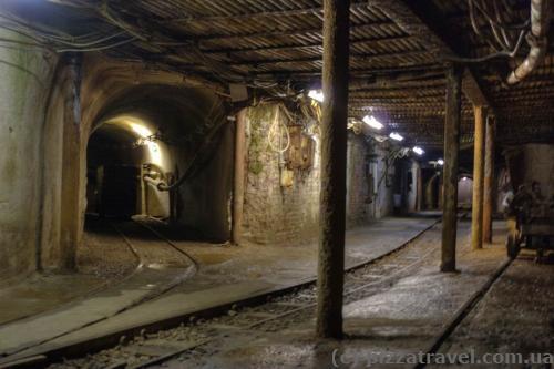 Туннели шахты