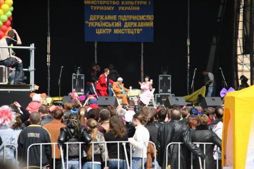 Виступ Маски-шоу - обов'язковий атрибут