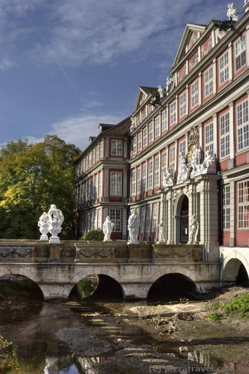 Castle palace in Wolfenbuettel