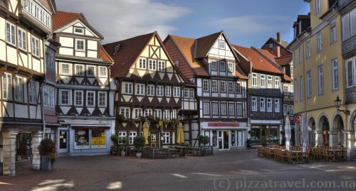 Старе місто у Вольфенбюттелі