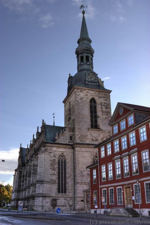 Marienkirche Church in Wolfenbuettel (beginning of the XVII century)