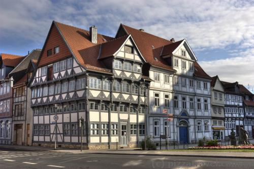 Half-timbered houses in Wolfenbuettel