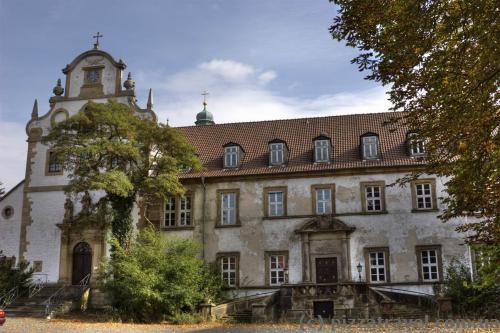 Левый фасад замка Рингельхайм вообще заброшен