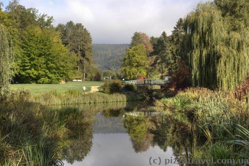 Курортный парк в Бад-Пирмонте
