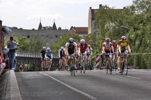 Bicycle race in Berlin