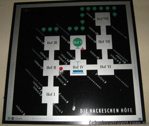 Hackesche Hoefe map