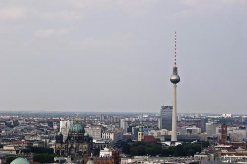 Центр города и телебашня