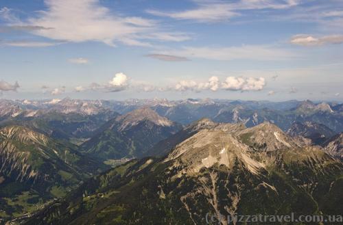 Вид с горы Цугшпитце