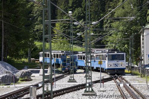 Zugspitze rack railway