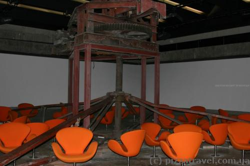 360-градусный кинотеатр на шахте Цольферайн