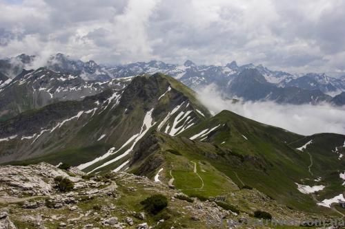 Вид с горы Небельхорн