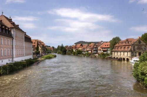 Река Регниц в Бамберге