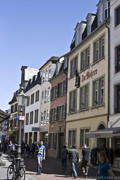 Дом, где родился Бетховен (Bonngasse 18-26)