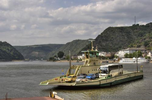 Ferry Sankt Goar - Sankt Goarshausen