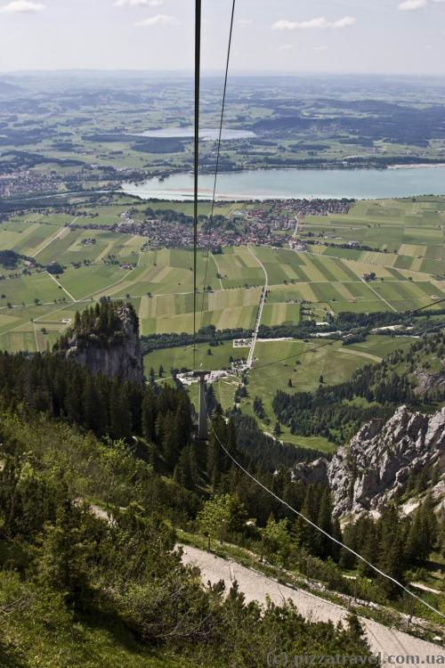 Cable car to Mount Tegelberg (Tegelbergbahn)