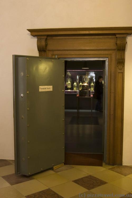 Сокровищница в музее Резиденции