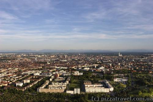 View of Munich from the TV tower