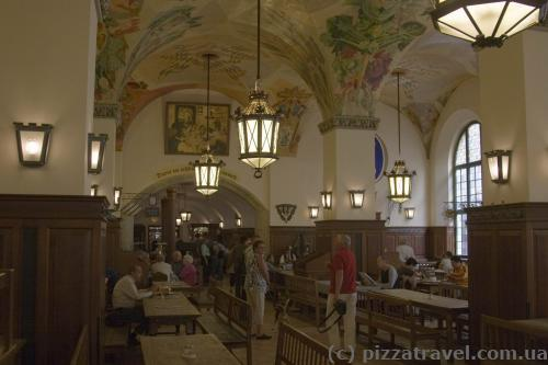 Hofbrauhaus, a famous beer hall
