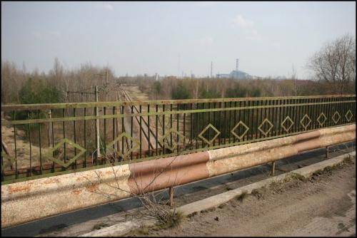Мост через реку Припять