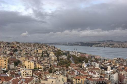 Вид з вежі Галата