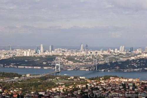 Вид на Стамбул с Буюк Чамлыджа