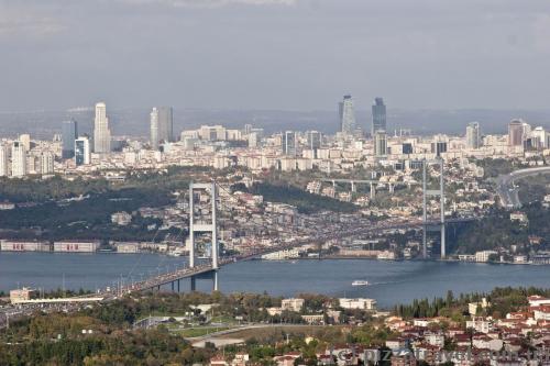 Краєвид Стамбула з Буюк Чамлиджа