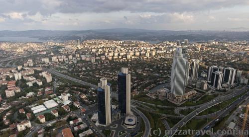Краєвиди Стамбула з хмарочоса