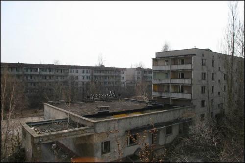 Вид из пустого здания