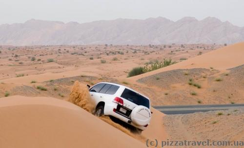 Джип-сафари в Дубае