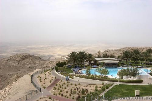 Mercure hotel on Jebel Hafeet