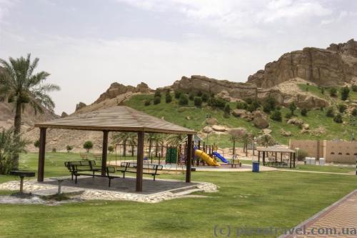 Hot springs of Al Ain