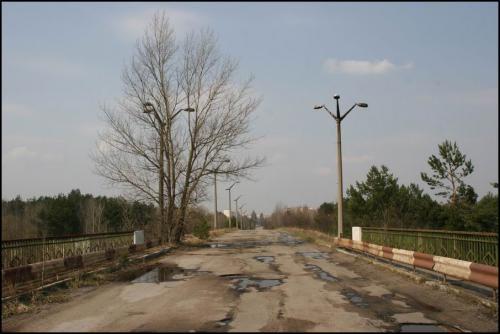 Дорога из Припяти