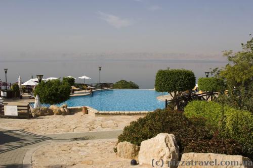 Отель Mariott на Мертвом море