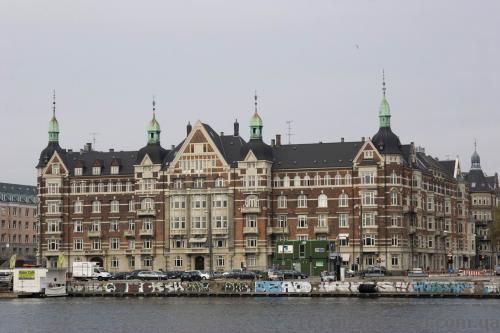 Beautiful building near the Langebro bridge