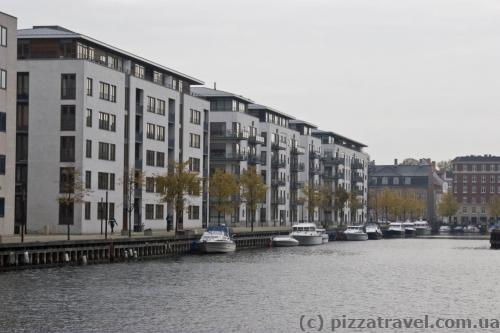 Canals on the Christianshavn artificial island