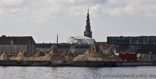 Sand sculpture festival in Copenhagen
