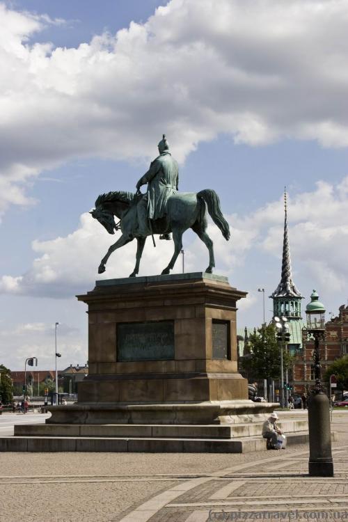 Statue of Fredrick VII