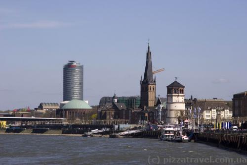 City center, Burgplatz