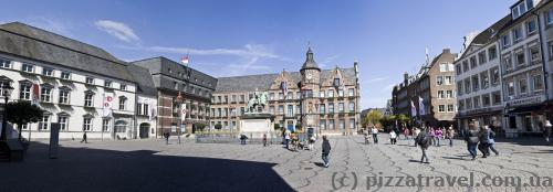 Market Square in Duesseldorf