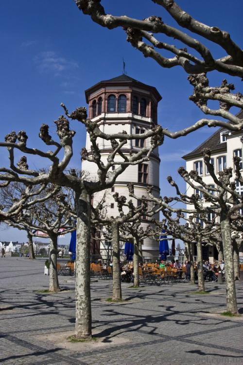 Castle Tower in Duesseldorf