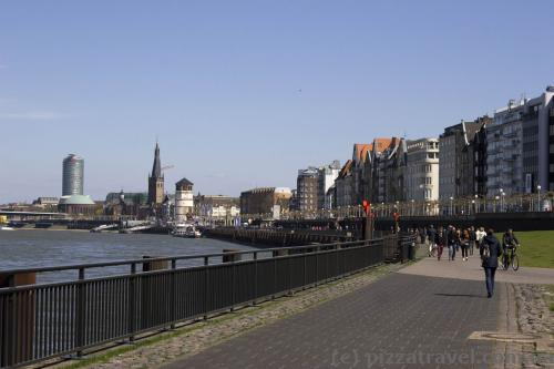Waterfront in Duesseldorf