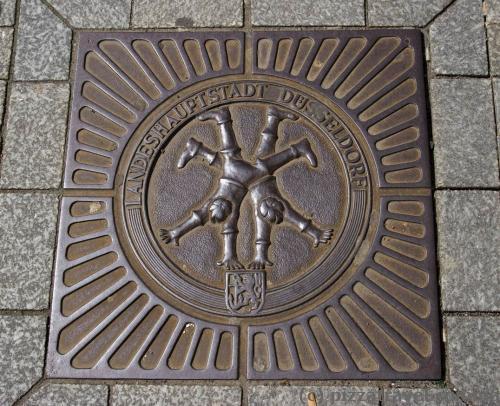 Symbols of the city everywhere