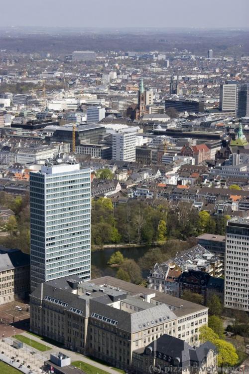 Vodafone Tower in Duesseldorf