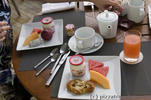 Десерты в отеле Marina Bay Sands