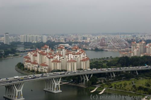 Вид на Сінгапур